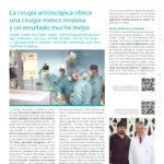 La cirugía artroscópica ofrece una cirugía menos invasiva y un resultado mucho mejor